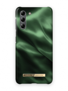 iDeal of Sweden iDeal Fashion Case for Samsung Galaxy S21 - Emerald Satin