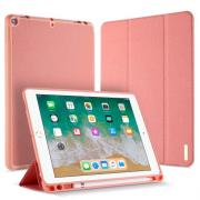 Dux Ducis Tri-Fold Leather Cover for iPad 9.7 2018 - Pink