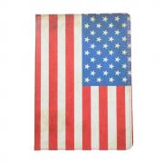 "Taltech Cover with Stand for iPad 10.2"" 2019 - American Flag"