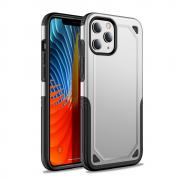 Taltech Rugged Hybrid Case for iPhone 12 /12 Pro - Silver