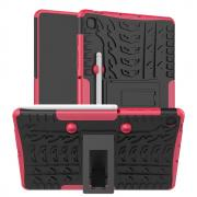 Taltech Tyre Pattern Case for Samsung Galaxy Tab S6 Lite - Red