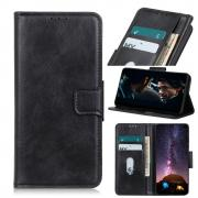 Taltech Crazy Horse Wallet Cover for OnePlus Nord - Black
