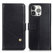 Taltech PU Leather Wallet Case for iPhone 13 Pro - Black