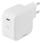 DELTACO USB-C PD, GaN, 61W wall charger by Deltaco- White