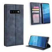 Vintage Cover for Samsung Galaxy S10 - Blue