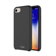 SiGN SiGN Liquid Silicone Case for iPhone 7 & 8 - Black