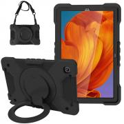 "Taltech Case 360° with Shoulder Strap for Galaxy Tab A7 10.4"" 2020 - Black"