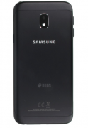 Galaxy J3 2017 Back Cover Duos Black