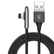 SiGN SiGN USB to Lightning Gaming Cable, 2m, 2.4A - Black