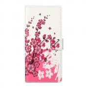 Taltech Wallet Cover for Samsung Galaxy S21 - Flowers