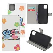 Taltech Wallet Cover for iPhone 12 Mini - Owls