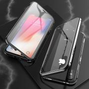 Taltech Tempered Glass Case for iPhone XS Max - Black