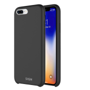 SiGN SiGN Liquid Silicone Case for iPhone 7 & 8 Plus - Black