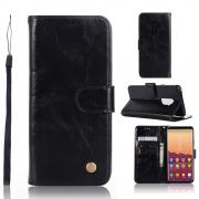 Cover Vintage for Samsung Galaxy S9 Plus - Black