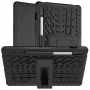 Taltech Tyre Pattern Case for Samsung Galaxy Tab S7 - Black