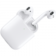 Apple Apple AirPods(2nd gen) with Wireless Charging Case - White