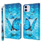Taltech IPhone 13 cover- Blue Butterfly