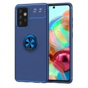 Taltech Kickstand Case with Ringholder for Samsung Galaxy A52 4G/5G - Blue