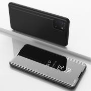 Taltech View Window Flip Cover for Samsung Galaxy Note 10 Lite - Black