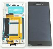 Sony Xperia M4 Aqua Original Display Silver