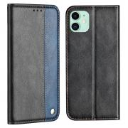 Taltech Business Style Wallet Case for iPhone 13 - Blue