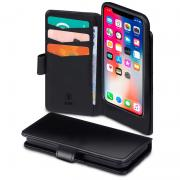 SiGN SiGN Wallet Case 2 in 1 for iPhone X/XS Black