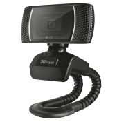Trust Trust Trino HD Video Webcam 720p - Black
