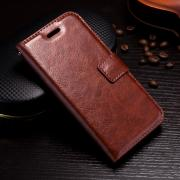 Crazy Horse Cover for iPhone X/XS- Brown