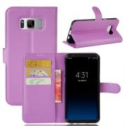 Taltech Wallet Cover for Samsung Galaxy S8 Plus - lila