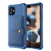 Taltech Kickstand Case for iPhone 12 Pro Max - Blue