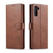 Taltech LC.IMEEKE Cover for Samsung Galaxy Note 10 - Dark Brown