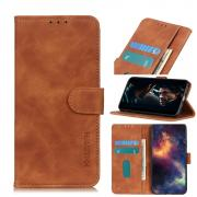Taltech KHAZNEH Retro Wallet Cover for iPhone 12 Pro Max - Brown