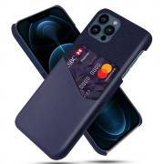 Taltech KSQ iPhone 13 Pro Max iPhone case with card holder- Blue