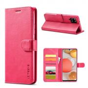 Taltech LC IMEEKE Wallet Cover for Samsung Galaxy A42 - Pink
