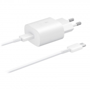 Samsung Samsung 25W USB-C Wall Charger - White
