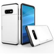 Hybrid Protector Case with Cardslot for Samsung Galaxy S10e - White
