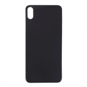 iPhone XS Max Back Cover Glas - Black