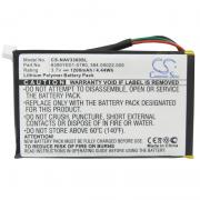 GPS battery for Navigon 0923FLYE31938, 384.00022.005 et. al