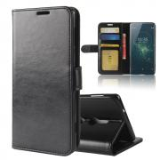 Crazy Horse Cover for Sony Xperia XZ2 - Black