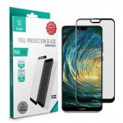 SiGN SiGN Full Screen Protector Tempered Glass for Huawei P20 Lite - Black
