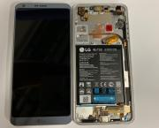 LG G6 H870 Display Platinium Original complete with Battery