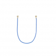 Samsung Galaxy Tab S7 Plus Coaxial Cable 107,2mm Blue