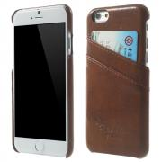 Taltech Oil Wax Case for iPhone 6-6S - Brown