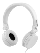 STREETZ STREETZ Headset with Microphone, 3.5mm - White