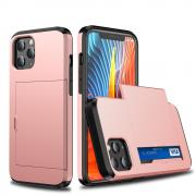 Taltech Case with Card Holder for iPhone 12 /12 Pro - Rose Gold