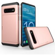 Hybrid Protector Case for Samsung Galaxy S10 Plus - Rosegold