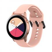Taltech Silicone Watchband for Samsung Galaxy Watch Active - Pink