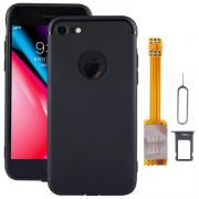Taltech Case with SIM-kortadapter for iPhone 8 - Black