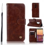 Cover Vintage for Samsung Galaxy S9 Plus - Brown