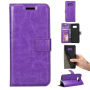 Taltech Crazy Horse Cover for Samsung Galaxy S8 - Purple